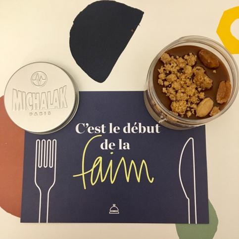 Kosmik cacahuètes au chocolat blond de Christophe Michalak : 4,90€